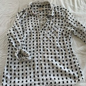 Target popover blouse